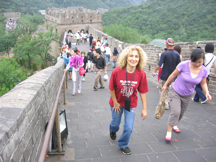 Walking The Great Wall - Dr. Angella Pinkhasova, Russian M.D., N.M.D.